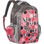 Mochila Grande de Costas Lovely Friend Luxo - Tilibra