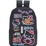 Mochila Hello Kitty T3 - 8215 - Artigo Escolar
