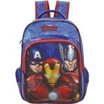 "Mochila Infantil 16"" Avengers Ultimate 6292 Azul"