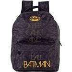 Mochila Infantil Batman Teen 4983 Preto - Xeryus