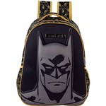 Mochila Infantil Grande Batman Shadows Preto - Xeryus