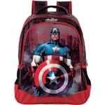 Mochila Infantil Média Avengers Triple Action Vermelho - Xeryus