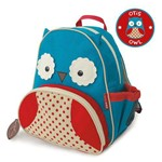 Mochila Infantil Skip Hop Coruja Zoo Azul 3+ - B-16-005