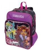 Mochila Monster High Grande com Bolso 16M PLUS 63911-00