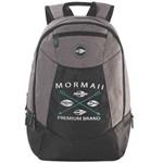 Mochila Mormaii Premium Brand Preto com Cinza