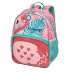 Mochila Pack me Flamingo G - Pacific