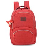 Mochila Porta Laptop Up4You Crinkle Vermelho - Luxcel
