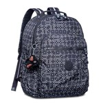 Mochila Seoul Up - Black Matrice - Kipling