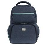 Mochila Térmica para NoteBook Maçaranduba Fata Azul Glitter