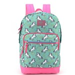 Mochila Up4you Collection Unicórnio Ms45578up Verde