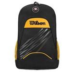 Mochila Wilson Esp WTIX13544A Preta e Amarela