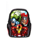 Mochila Xeryus Avengers a Team 14 Cinza/Preta