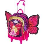 Mochilete G Barbie Butterfly e a Princesa Fairy Roxo 06308248 Sestini