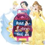 Mochilete G Princesas Disney Escolar Infantil Original Dermiwil