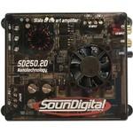 Módulo Amplificador Soundigital Sd250.2d, 2x 125w Rms, 2 Ohms
