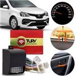 Módulo de Trava Elétrica Speed Lock Toyota Etios Hatch Sedan 2017 a 2019 Plug And Play Tury Ac03 B