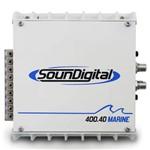 Modulo Náutico Soundigital 400 Rms Sd-400.4d Marine Stereo