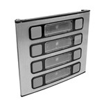 Módulo para Porteiro Eletrônico de 8 Botões Único 8u Hdl