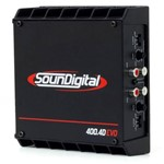 Modulo Soundigital Sd 400 X 4 400w Rms Amplificador Digital