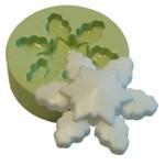 Molde em Silicone Floco de Neve