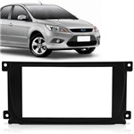 Moldura Dvd 2 Din e Multimidia Ford Focus 2009 a 2013 Preto