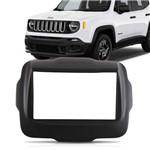 Moldura DVD 2 Din Jeep Renegade 2015 2016