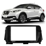 Moldura Painel Radio Dvd 2din Nissan Kicks - Black Piano