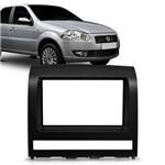 Moldura para Auto Rádio 2 Din Fiat 2012 Preta - Fiamon