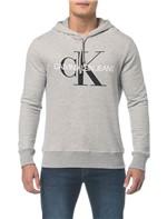 Moletom Ckj Mk Est Logo Ck - Mescla - PP