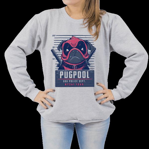 Moletom PugPool - Unissex - P