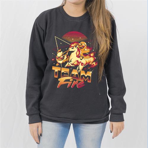 - Moletom Team Fire - Unissex - P