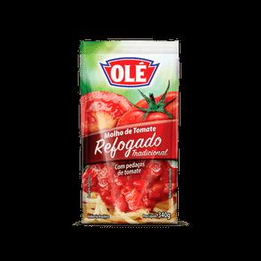 Molho de Tomate Olé Refogado Tradicional 340g (Sachê)