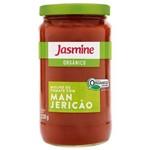 Molho de Tomate Orgânico com MANJERICÃO - Jasmine - 330g