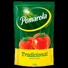Molho de Tomate Pomarola Tradicional 340g (Sachê)