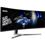 "Monitor Gamer LED 49"" Curvo 1ms 144hz Double Full HD Ultra Wide - Samsung"