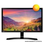 Monitor Led 24 Lg 24mp60vq Preto Widescreen