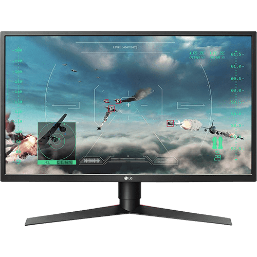 "Monitor LED Gamer 27"" LG 27GK750F 240Hz 1ms Free-Sync Full HD"