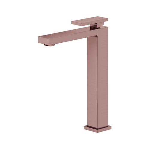 Monocomando para Banheiro Mesa Bica Alta New Edge Cobre Escovado - Docol - Docol