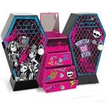 Monster High Armário Monstruoso Cofre Duplo - Fun Divirta-Se