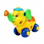 Monta Desmonta Brinquedo Didático - Elefante