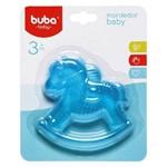 Mordedor para Bebê Buba Gelado com Água Cavalinho Azul