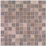 "Mosaico ""A"" 30X30 Malla Dresden Serpentino Gr Roca"