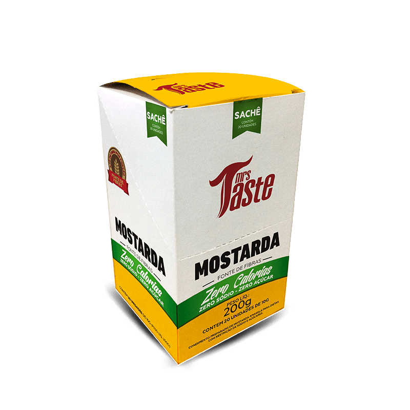 Mostarda (20sachês) Mrs. Taste