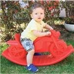 Moto Balanço Polietileno Colorido Alpha Brinquedos