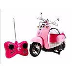 Moto de Controle Remoto DreamCycle da Barbie
