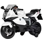 Moto Elétrica 6V BMW Branca - Brinquedos Bandeirante