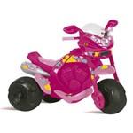 Moto Elétrica Feminina Supersport Rosa Bandeirante