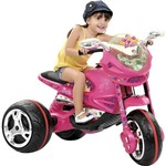 Moto Elétrica GT Barbie - EL / 6V - Bandeirante