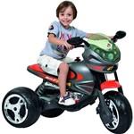 Moto Elétrica Infantil Super Moto GP Grafite 6v - Bandeirante