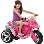Moto Elétrica Sport Barbie 6V - Brinquedos Bandeirante